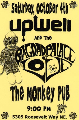 October 4,2003 @ Monkey Pub (5305 Roosevelt Way NE, Seattle, WA)